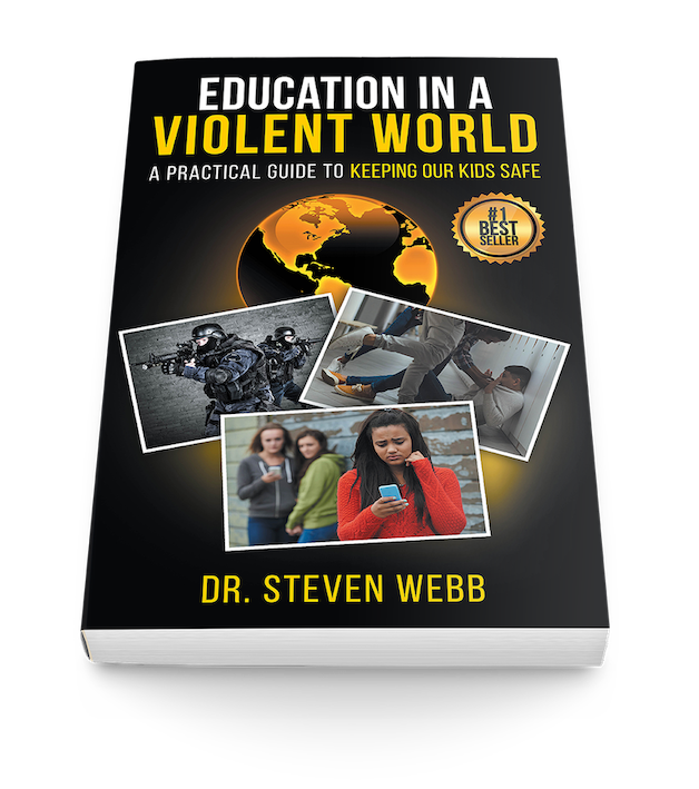 Dr Steve Webb book-Education in a Violent World