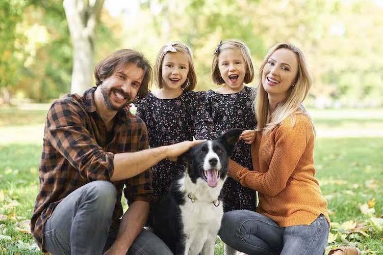 happy safe family